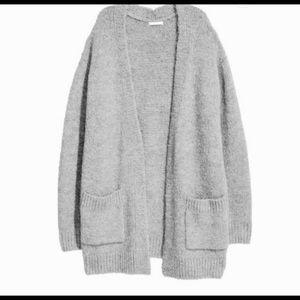 Wool Grey Cardigan